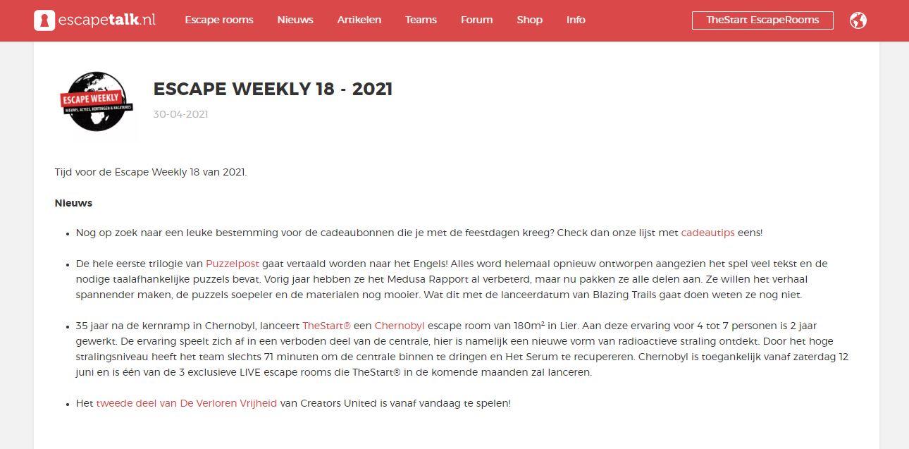 2021-04-30 Escapetalk.nl