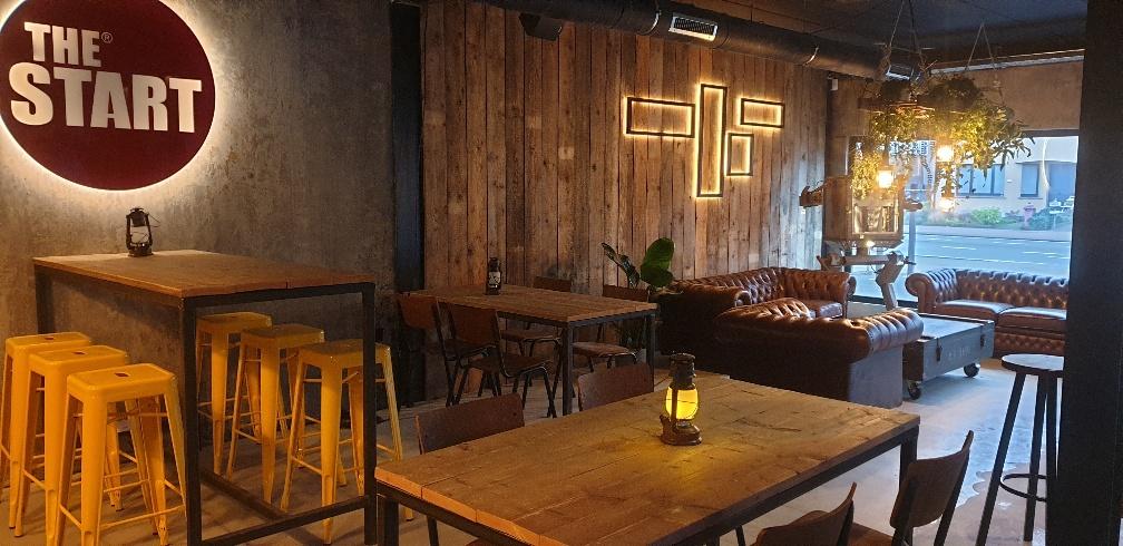 TheStart escape room lounge bar